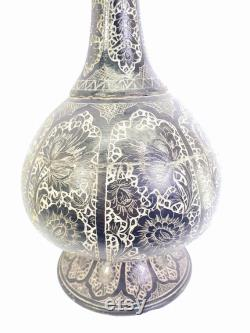 1800s Antique Ottoman Hand Carved Stone Carafe