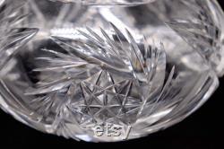 American Brilliant Cut Glass Water Carafe