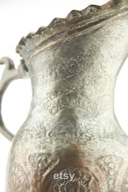 Antique 1850s middle eastern water pitcher (50 shipping discount)