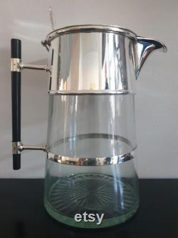 Carafe- Dr. Ch. Dresser. silver-plated