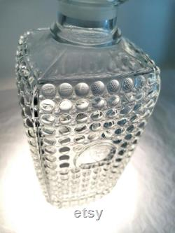 Carafe designed by Adolf Matura, Libochovice glassworks