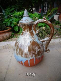 Ceramic Wine Carafe, Handmade Ceramic Carafe, Ceramic Wine Decanter, Water Carafe, Ceramic Water Pitcher, Custom Wine Set
