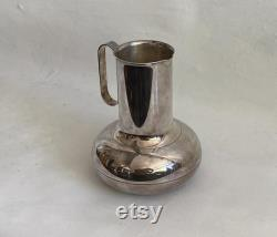 Christofle French Mid Century Modern Silver Plate Carafe