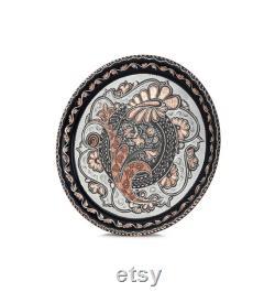 Decorative Handcrafted Copper Zamzam Set