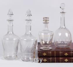 French Crystal Carafe, 1930s