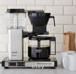 Moccamaster by Technivorm 10-Cup Coffee Maker with Glass Carafe