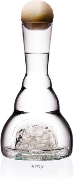 Mouth blown Harmonising Carafe from real Czech crystal (1.4l) Crystal original gift barware wine decanter water decanter.