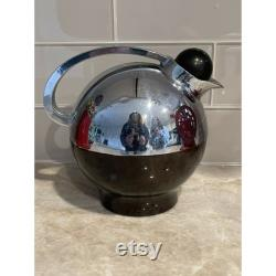 RARE Vintage Art Deco Thermos Pitcher Carafe 3570 Chrome Spherical Miracle Orb