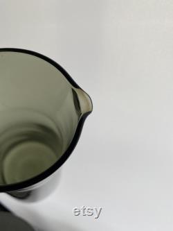 Scandinavian influenced Carafe set 1960s Caithness Stroma design Domhnall O Broin