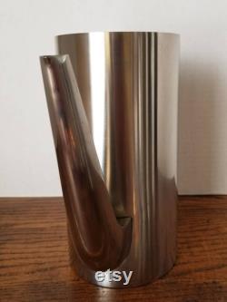 Stelton Cylinda Line Coffee Pot Denmark Modern Stainless Arne Jacobsen Mid Century Carafe MCM Scandinavian