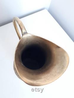 VINTAGE Copper Handmade Carafe Water Bottle Vintage Pitcher