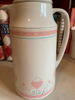 Vintage Corning Thermique Thermos and Cups, Forever Yours