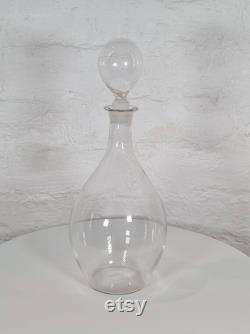 Vintage Glass Wine Decanters