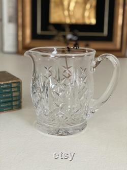 WATERFORD Crystal Carafe Vintage Juice Jug Glass Carafe Cut Crystal Pitcher Crystal decanter Crystal barware