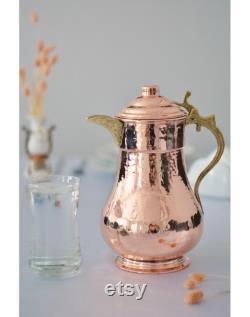carafe,copper carafe,vintage carafe