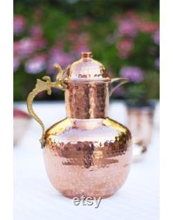 carafe,copper carafe,vintage carafe,,step mom gift,mother's day gift