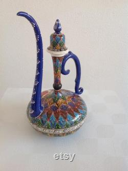carafe,decoration carafe,ceramic carafe,tile carafe